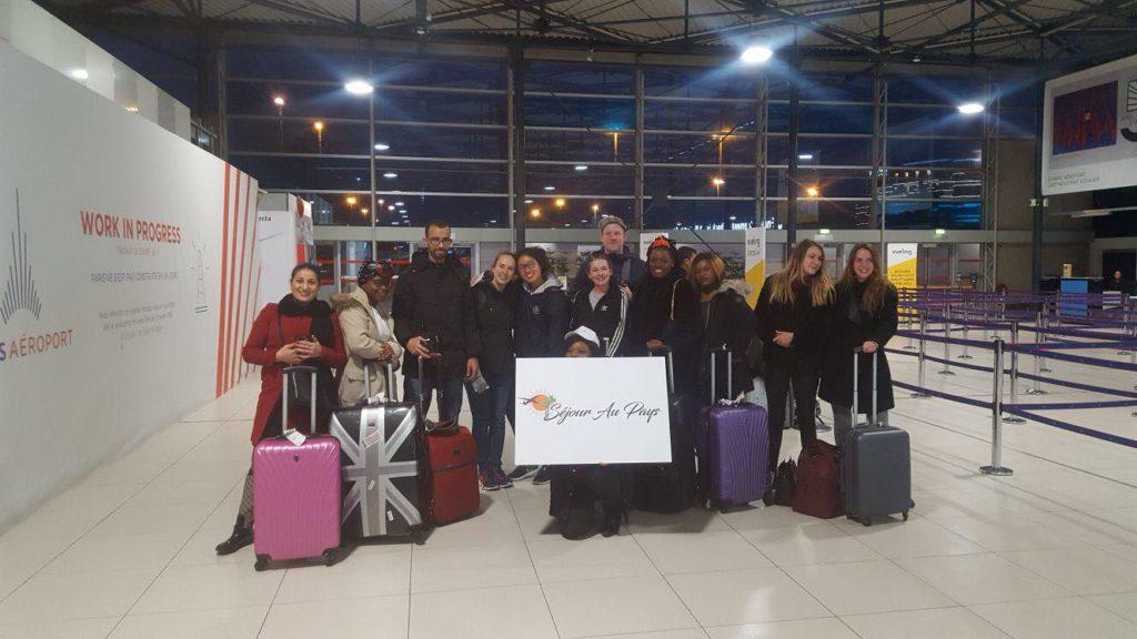 Départ de l'aéroport Ndjili