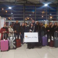 Départ de l'aéroport Kinshasa Ndjili